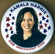 Kamala Harris Campaign Button