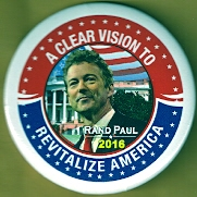 Rand Paul 2016 campaign button.