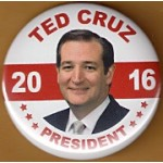 Cruz 7A - Ted Cruz President 2016 Campaign Button