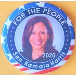 Harris  2A  - For The People Sen. Kamala Harris  2020 Campaign Button