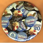 Sanders  8C  - Bernie Sanders  President 2020  Campaign Button