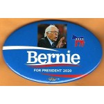 Sanders  5J  - Bernie  For President 2020   Campaign Button