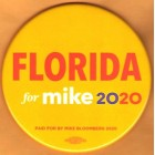 Mike Bloomberg Campaign Buttons (8)