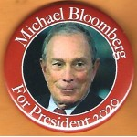Bloomberg 4D  - Mike Bloomberg  For President 2020  Campaign Button