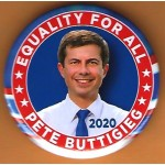 Buttigieg  5C  -  Equality For All Pete Buttigieg 2020 Campaign Button