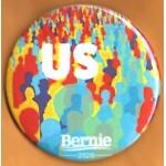 Sanders  8A  - US Bernie 2020  Campaign Button