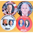 2024 Presidential Hopefuls Buttons