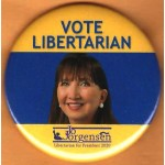 3rd Party 1X  - Vote Libertarian Jo Jorgensen President 2020  Campaign Button