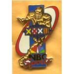 AD 11A - Super Bowl XXXII NBC Sports Lapel Pin