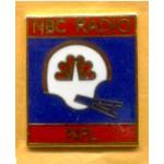 AD 5A  - NBC Radio NFL Lapel Pin