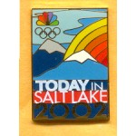 AD 8A - TODAY in SALT LAKE 2002 Lapel Pin