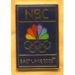 AD 9A - NBC Salt Lake 2002. Lapel Pin