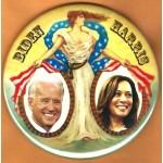 Biden 18D  -   Biden  Harris   Campaign Button