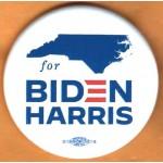 Biden 19D  - (North Carolina)  for  Biden Harris   Campaign Button
