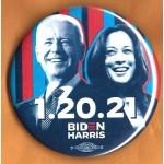 Biden 20E  - 1.20.21  Biden Harris  (Minnesota) Campaign Button