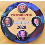 Biden  2J  -  Presidents For Biden  2020  Campaign Button