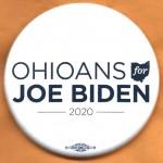 D2020 11J  - Ohioans For Joe Biden  2020  Campaign Button