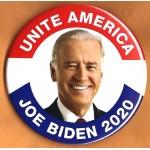 D2020  15M  - Unite America  Joe Biden 2020  Campaign Button