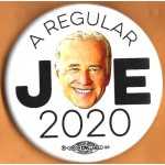 Biden 1E  - A Regular Joe 2020  Campaign Button
