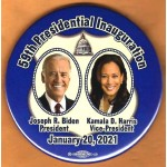 Biden 20A  -  59th Presidential Inauguration Joseph R. Biden President Kamala D.  Harris Vice President January 20 , 2020   Campaign Button