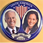 D2020 20J  -  Unite America Biden And Harris 2020   Campaign Button