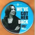 Kamala Harris Campaign Buttons (6)