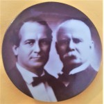 Byran 5D - (William Jennings Bryan Adlai Stevenson) Campaign Button 1900