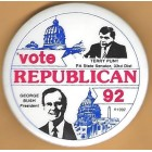 George H.W. Bush Campaign Buttons