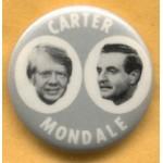 Carter 15E - Carter Mondale Campaign Button