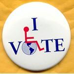 Cause 11B  - I Vote Campaign Button