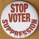 Cause 39B - Stop Voter Suppression Button
