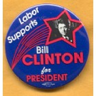 Bill Clinton Campaign Buttons