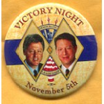 Clinton 63A  - Victory Night November 5th Democratic Leadership