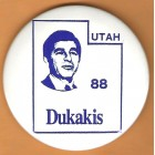 Michael Dukakis Campaign Buttons