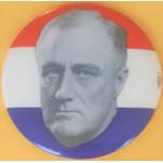 FDR 12G - (President Franklin D. Roosevelt) Campaign Button