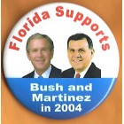 George W. Bush Campaign Buttons