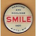 Warren G. Harding Campaign Buttons (4)