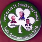 Hillary Clinton Campaign Buttons