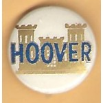 Hoover 5H - Hoover Campaign Button