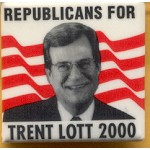 Hopeful 26C - Republicans For Trent Lott 2000 Campaign Button