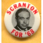 Hopeful 36B - Scranton For President Campaign Button