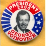 Hopeful 37C - President 2000 George Voinovich Campaign Button