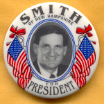 Hopeful 54B - Smith Of New Hampshire For President Campaign Button