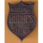 Hughes 1D - National Hughes Alliance Lapel Pin