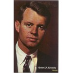 Kennedy RFK 9E - Robert F. Kennedy Memorial Postcard