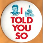 John F. Kennedy Campaign Buttons