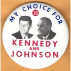John F. Kennedy Campaign Buttons (11)