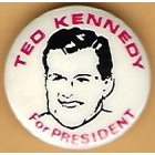 Ted Kennedy Campaign Buttons