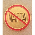 Labor 7E - Anti NAFTA Lapel Pin