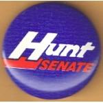 NC 1B - Hunt Senate Campaign Button